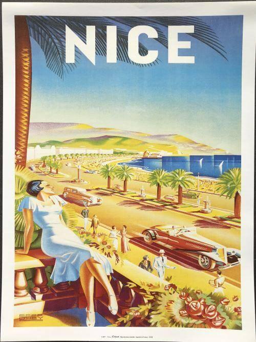 L'affiche publicitaire la plus célèbre d'Efff d'Hey.