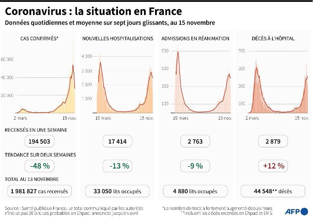 Coronavirus: la situation en France