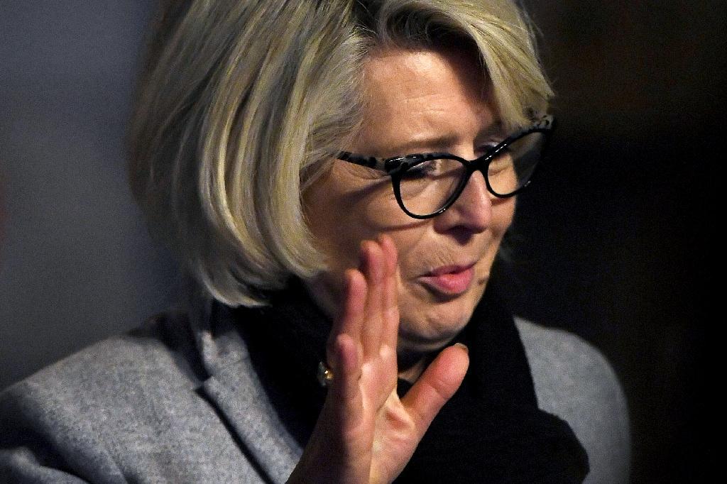 Isabelle Fouillot quitte le palais de justice de Vesoul, le 21 novembre 2020