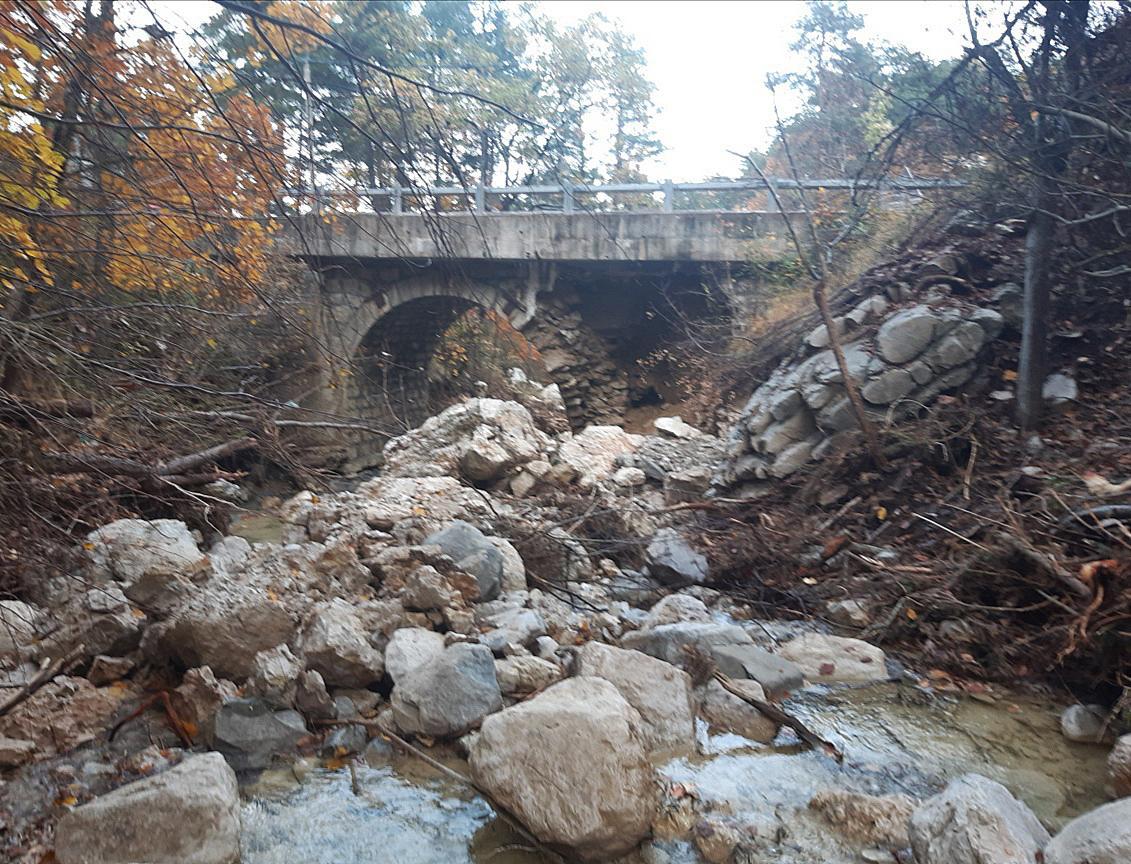 20 tonnes de rochers devront être dynamisées au pont de la Serre.