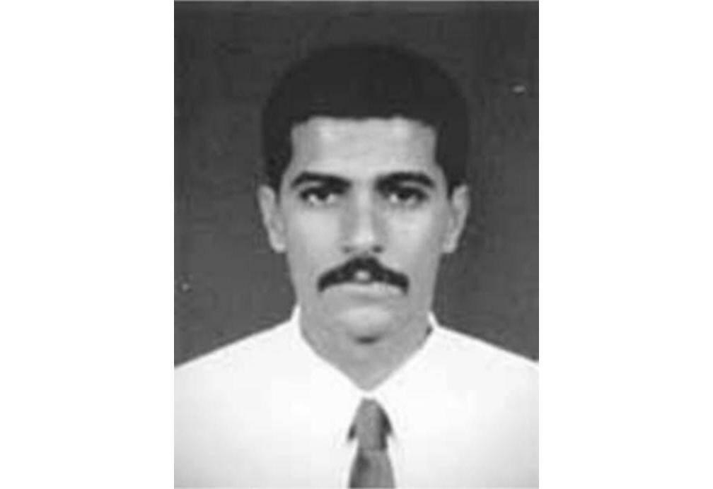 Photo non datée diffusée par le FBI le 13 novembre 2020 d'Abdullah Ahmed Abdullah, numéro 2 d'Al-Qaïda, figurant sur la liste des terroristes les plus recherchés par la police fédérale américaine