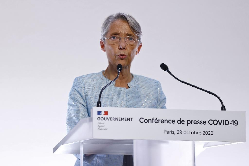 Élisabeth Borne, la ministre du Travail, le 29 octobre 2020 à Paris