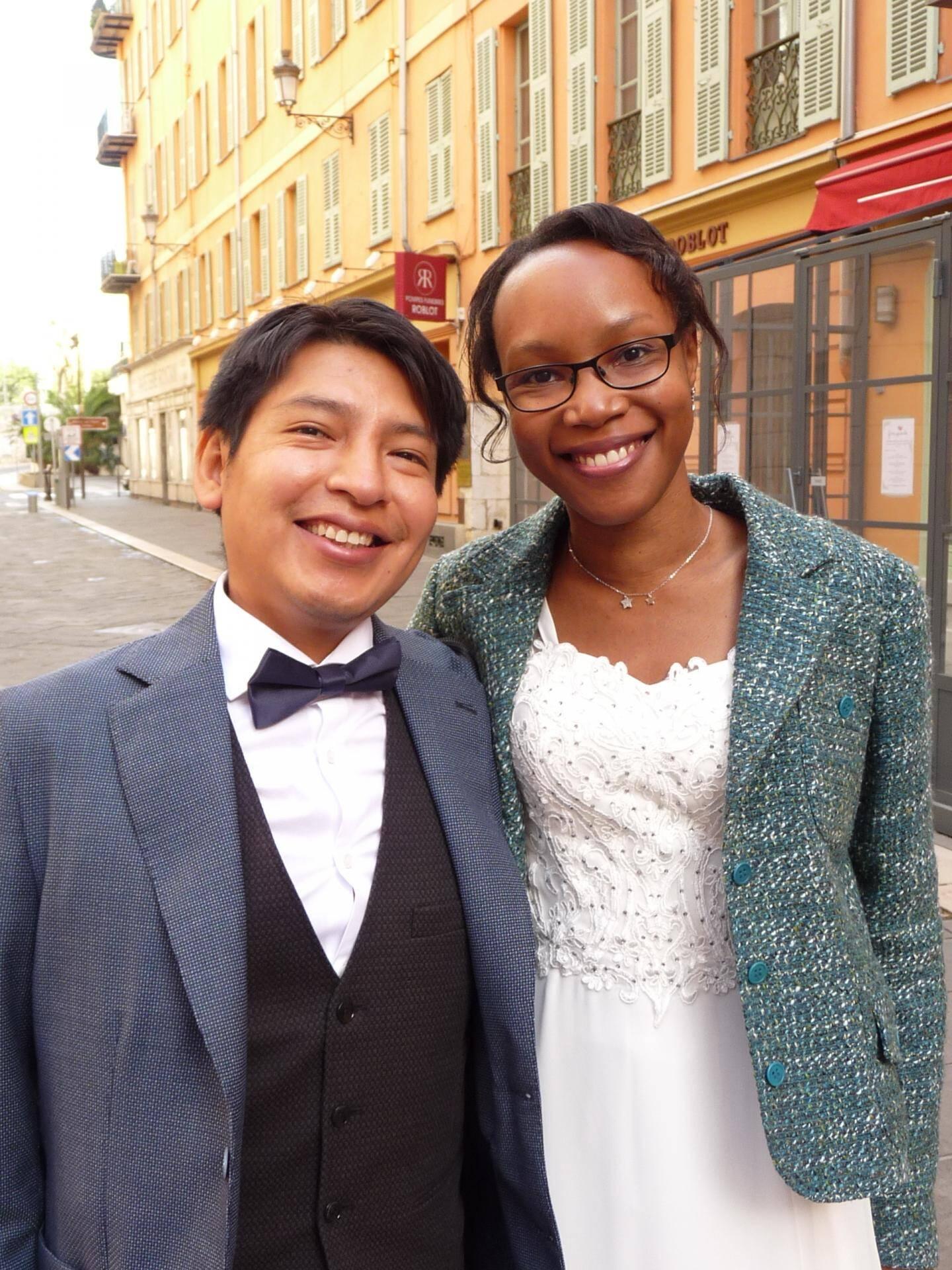 Bernabe Pari, informaticien, et Marie-Michèle Varin, chargée de missions