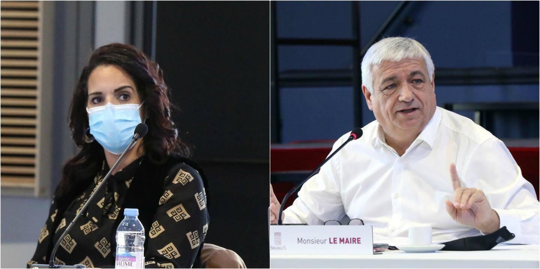 Fatiha El Bayid et Didier Brémond