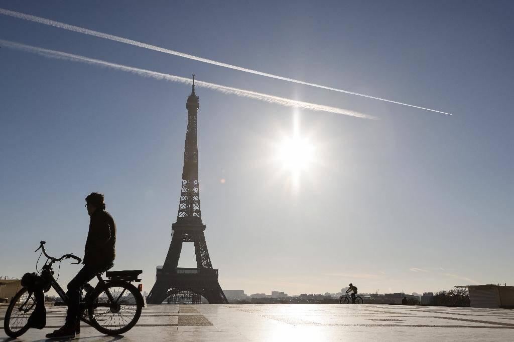 L'esplanade du Trocadéro, déserte, à Paris, le 18 novembre 2020