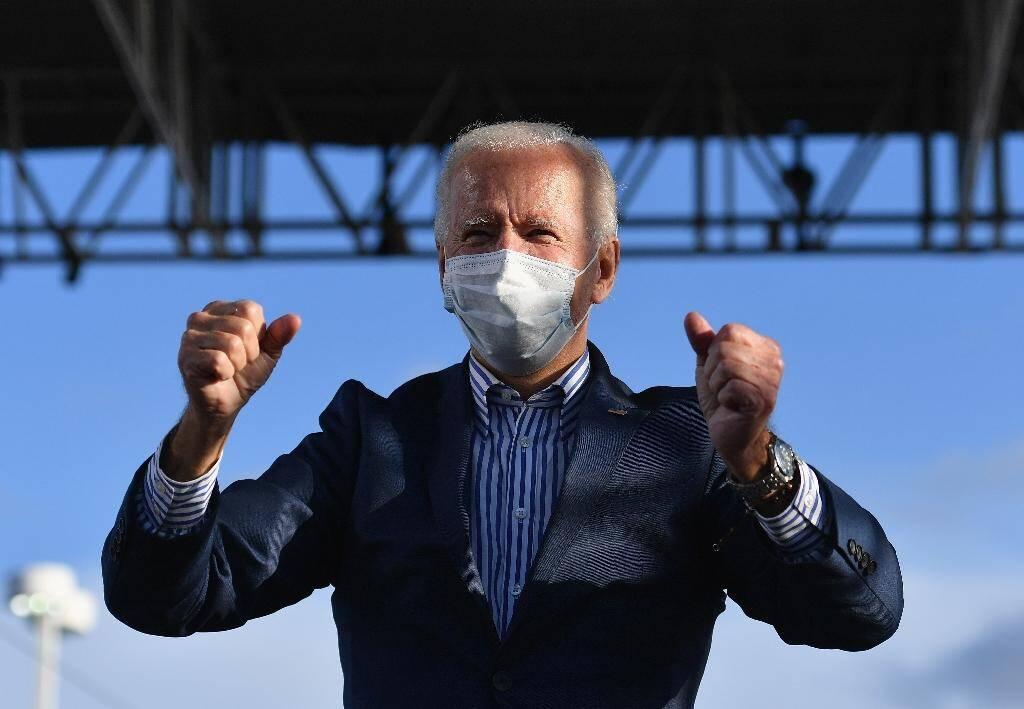 Joe Biden en Pennsylvanie le 24 octobre 2020
