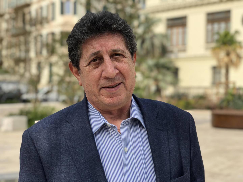 L'écrivain et historien Georges Ayache, le 1er octobre dernier, lors de notre entretien à Nice.