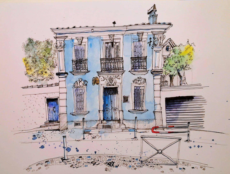 La maison du notaire.
