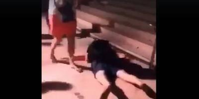 VIDÉO. Un jeune homme baigne dans son sang à Cannes après une bagarre: on vous explique ce qu'il s'est vraiment passé