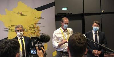 """""""C'est quasiment un huis clos"""": des mesures sanitaires plus strictes prises pour le Tour de France à Nice"""