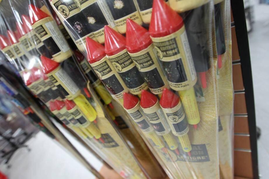La vente de pétards/feux d'artifices est très réglementée en France.