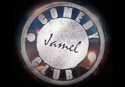 Le logo du Jamel Comedy Club.