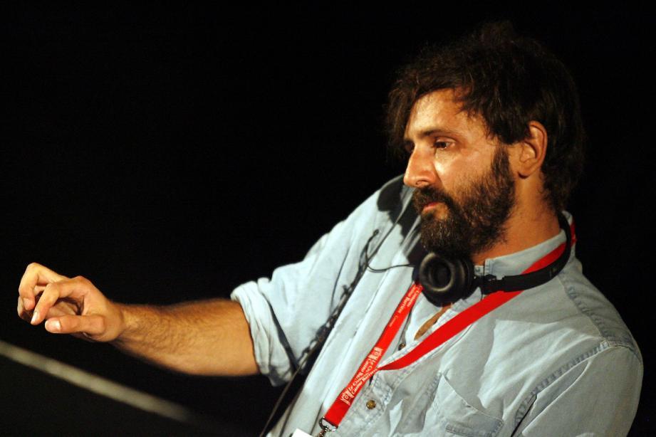 Quentin Dupeux, alias Mr Oizo, ici en 2009 sur la terrasse du Palais des festivals de Cannes pour le festival Pantiero.