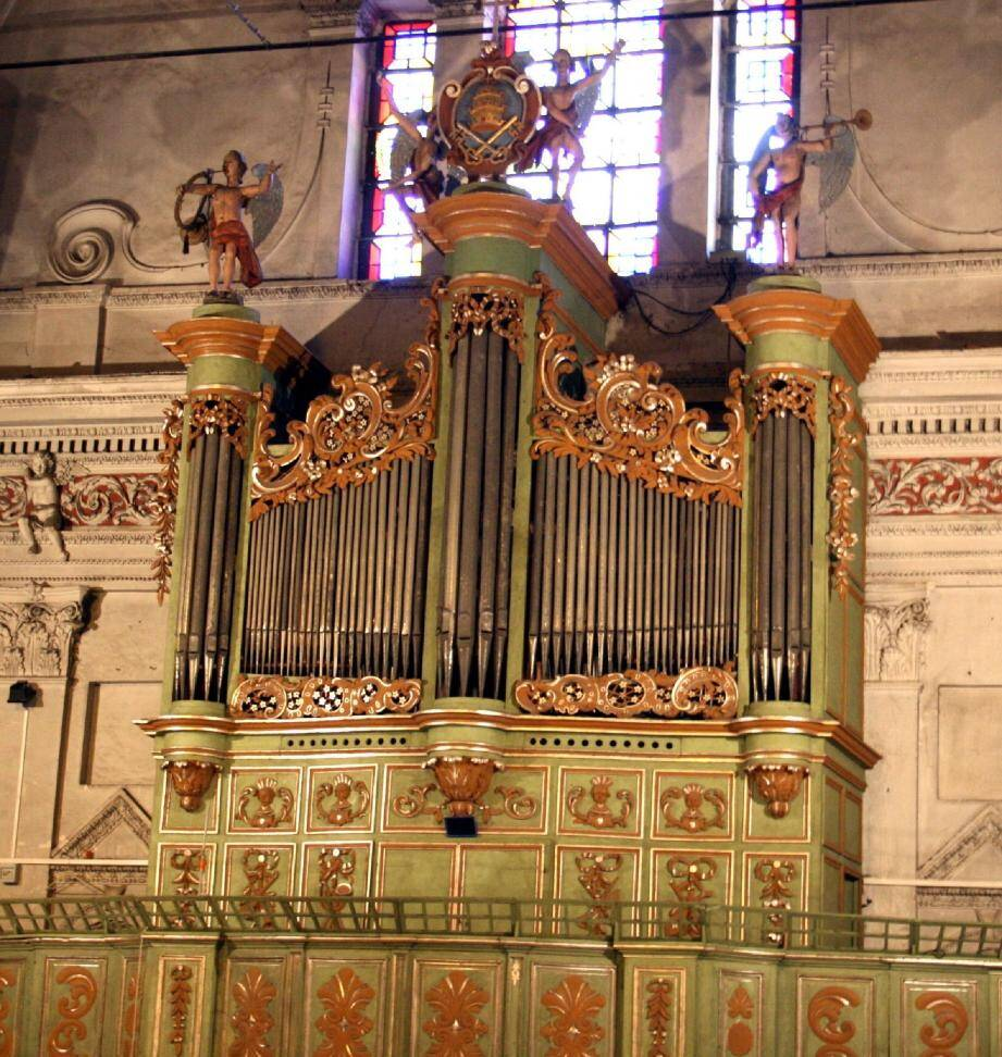 L'orgue historique des frères Grinda sera à l'honneur pour les 11es rendez-vous de l'orgue vivant.