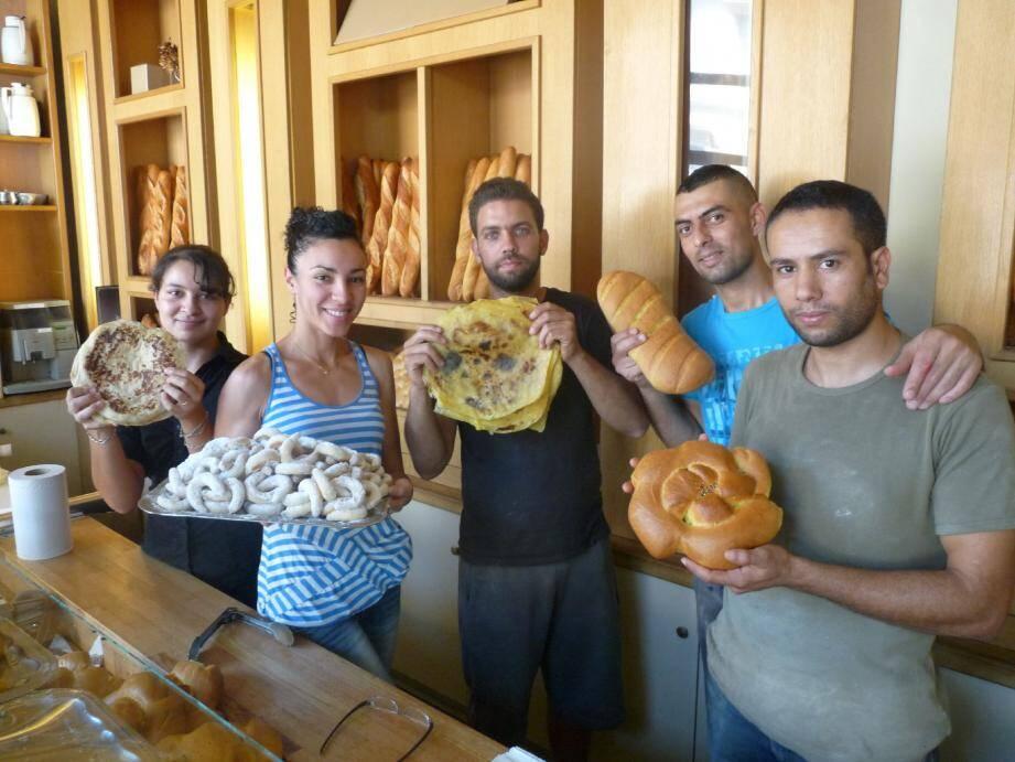 La boulangerie Les Dunes est au taquet avec pas loin de 900 pains quotidiens durant le jeûne.