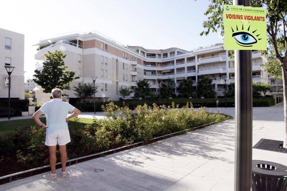 Le centre-ville, notamment le nouveau quartier du Béal, sera bientôt placé sous « surveillance citoyenne ».(Photomontage Grégoire Albertini)