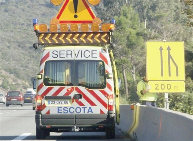 Escota sensibilise régulièrement les 1300 agents appelés à se déplacer sur le réseau.