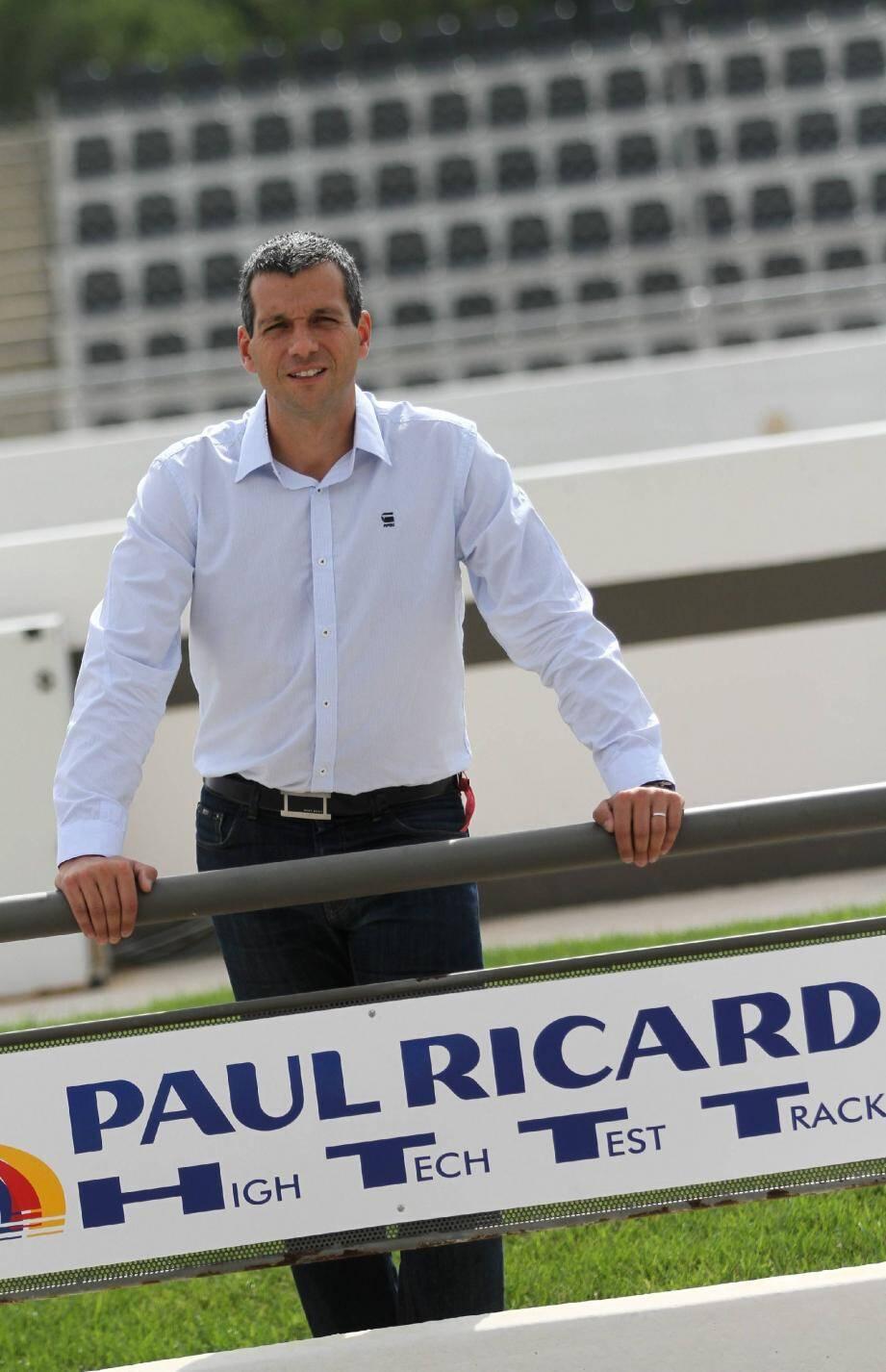 Stéphane Clair succède aujourd'hui à Gérard Neveu parti diriger le championnat du monde d'endurance FIA après onze années passées au Castellet.(Photo Eric Estrade)