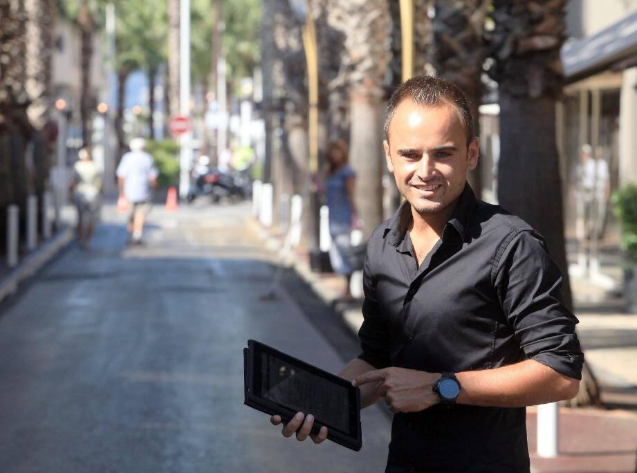 Sébastien Vidal véritable coach en vente d'appartements ou de maisons.(Photo Cyril Dodergny)