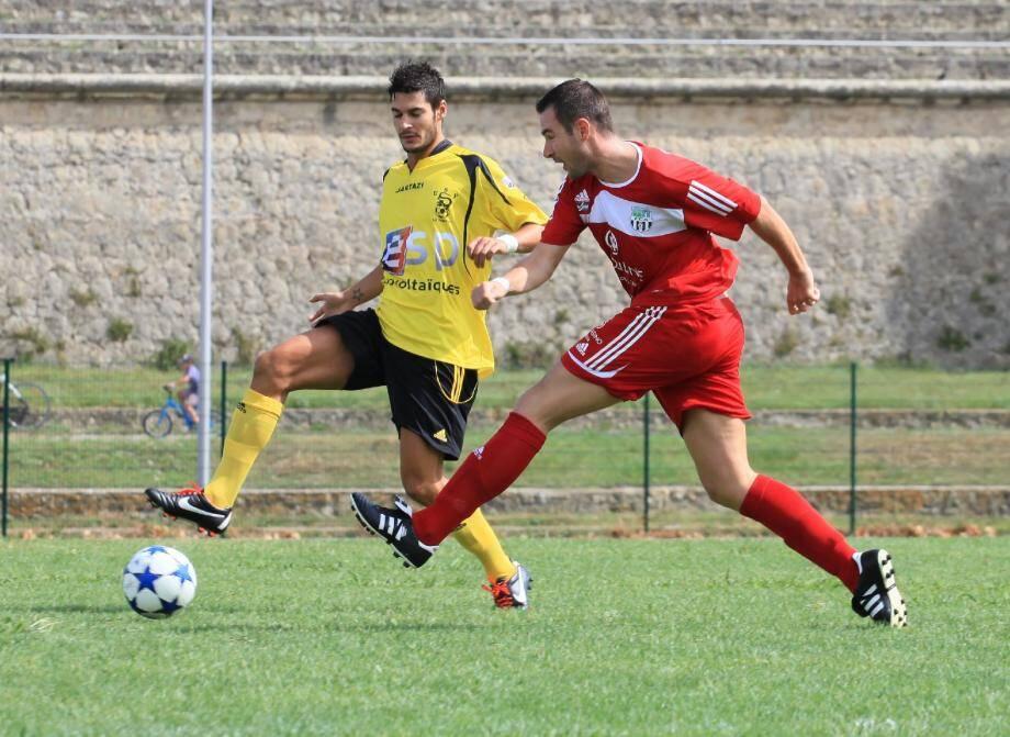 Unique buteur de la rencontre à Sisteron (1-0), Bruno Nicosia a offert un succès précieux aux siens.