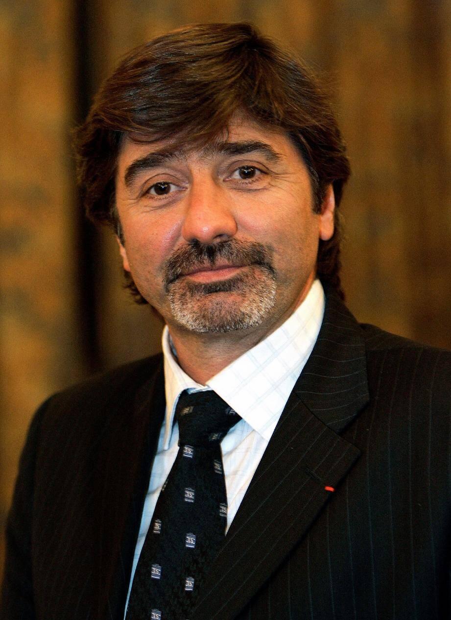 Michel Neyret, numéro deux de la police judiciaire de la région Rhône-Alpes, a été arrêté, hier matin.(Photo PQR/Le Progrès)