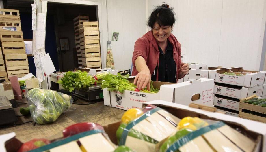Les professionnels du MIN défendent la production locale et leur savoir-faire.(Photo Frantz Bouton)