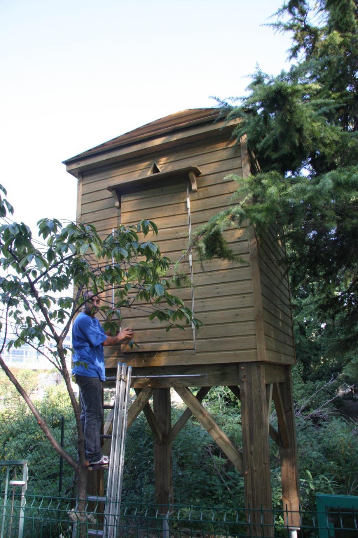 Le parc Phœnix abrite l'un des quatre pigeonniers installés par la Ville pour maîtriser la reproduction des pigeons.(Photos D.R)