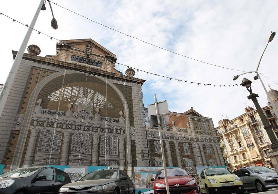 Après vingt ans de tergiversations, le chantier de la gare du Sud va enfin pouvoir démarrer dans trois mois.(Photo François Vignola)