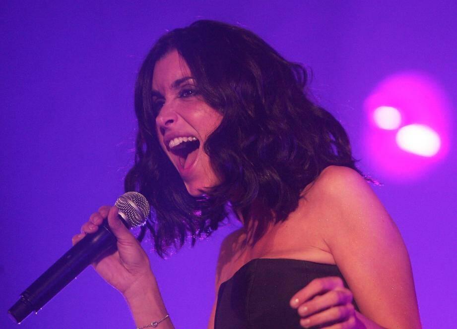 Jenifer sera en concert au théâtre Galli de Sanary-sur-Mer, le samedi 22 octobre.(Photo François Vignola)
