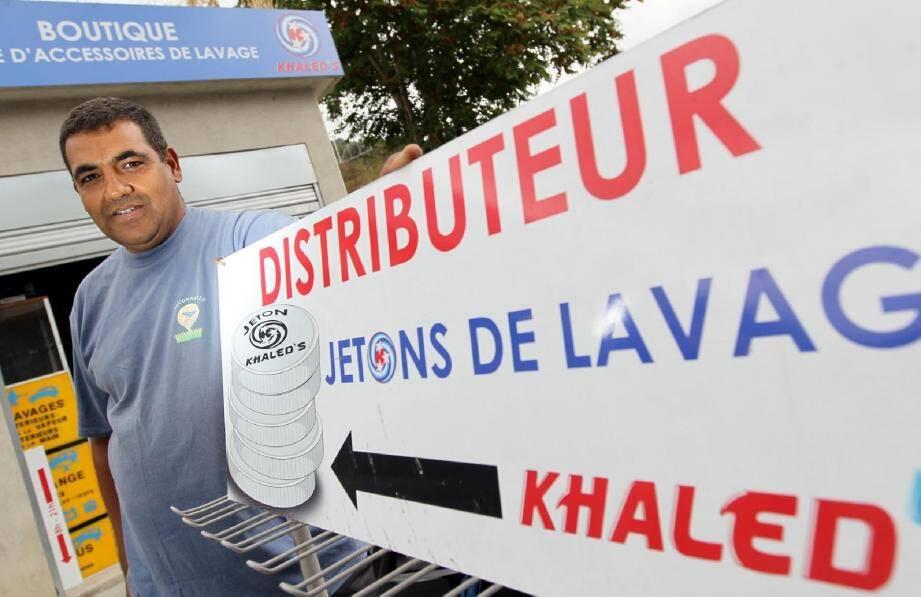Khaled Nhouchi a préféré opter pour le statut d'entrepreneur individuel à responsabilité limitée. Le régime d'auto-entrepreneur ne lui permettait pas de donner une ampleur suffisante à son projet.(Photo Franz Chavaroche)