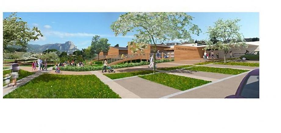 L'avant-projet définitif du centre de 673 m2 a été présenté au conseil municipal mercredi soir.(Photo DR)