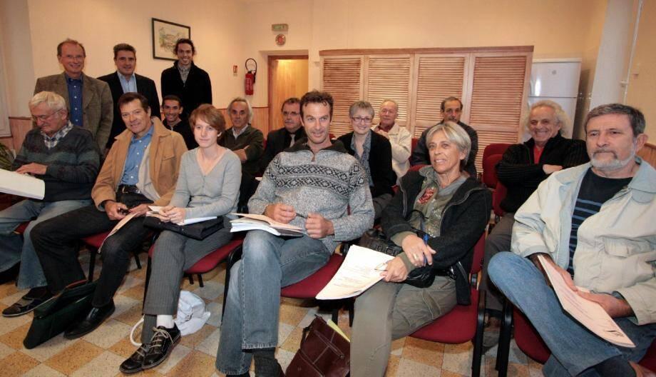 Le Conseil de développement du Pays des Paillons s'est réuni en séance plénière à Touët-de-L'Escarène.(Photo J.-P. B.)