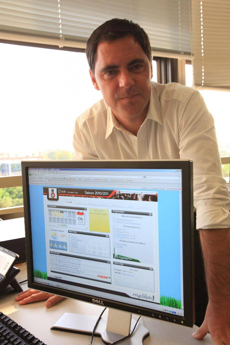 Thomas De Pariente, directeur général de « Mycoach ».