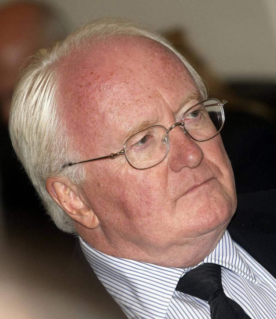 Le président du Conseil Régional de Paca Michel Vauzelle.