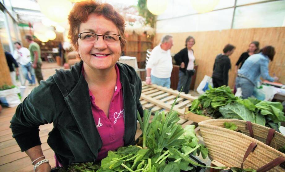 Georgette Korhel, présidente des Amapiens du Golfe, défend une agriculture de proximité.