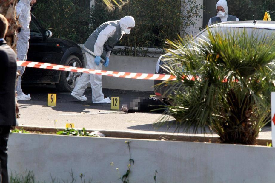 """Christian Leoni sortait du restaurant """"U Catagnu"""" lorsqu' il est tombé sous les balles d'un ou plusieurs tireurs"""