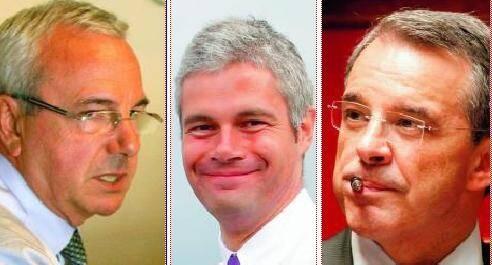 Jean Leonetti (Droite humaniste), Laurent Wauquiez (Droite sociale) et Thierry Mariani (Droite populaire) : les trois atouts de l'UMP.