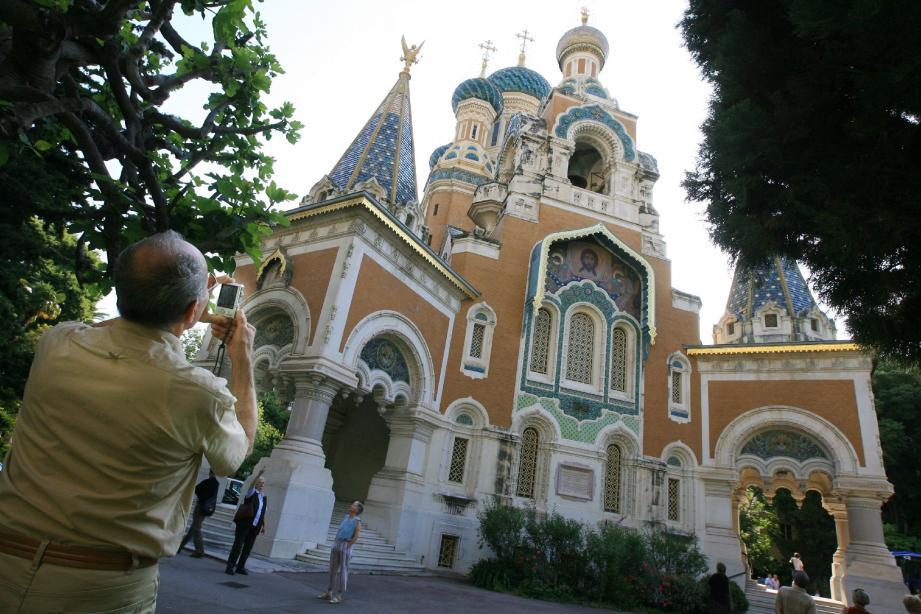 Le nouveau propriétaire de l'Eglise russe de Nice, la Fédération de Russie, n'a pas obtenu l'expulsion mais la remise des clés. (Photo Frantz Bouton)