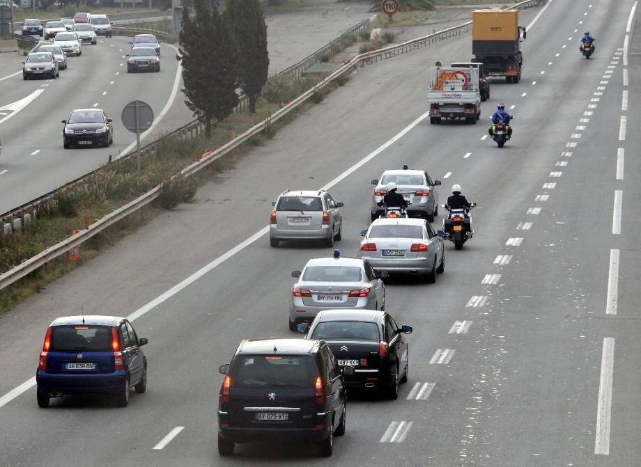 Les convois officiels des chefs d'Etat vont encore perturber le trafic aujourd'hui.