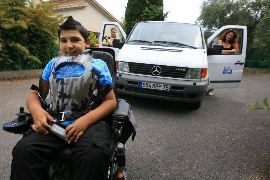 Edgar pourra réaliser son rêve : aller voir son héros, Sébastien Loeb, au rallye de Nouvelle-Zélande.(Photo Patrick Clementé)