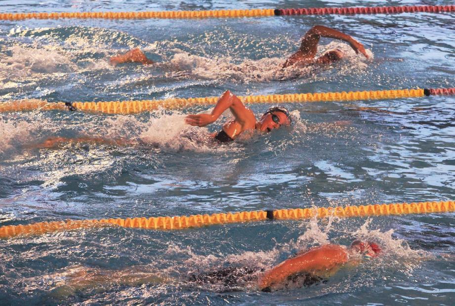 Plus de 300 nageurs étaient réunis au stade nautique d'Antibes pour les deux journées de compétition.(Photo Cyril Dodergny)