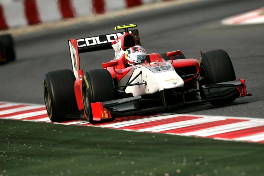 Avant sa première exploration de la planète F1 chez Toro Rosso, Stefano Coletti retrouvera l'écurie Coloni avec laquelle il s'est illustré lors du récent test collectif de Barcelone (ci-dessus) pour disputer la finale (hors championnat) des GP2 Series 2011.(Photo LAT)