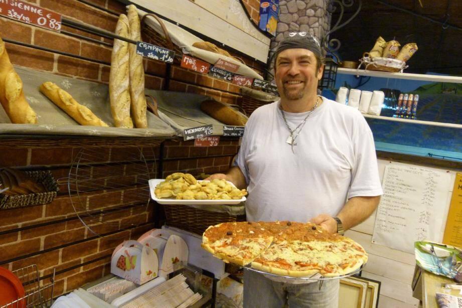 Patrice Martin a repris la boulangerie en janvier dernier.
