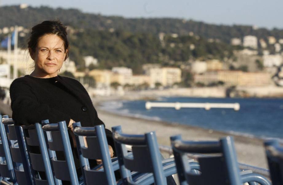 Charlotte Valandrey, 43 ans dans quelques jours, battante au cœur battant a dédicacé son livre à la Fnac de Nice.(Photo Frantz Bouton)