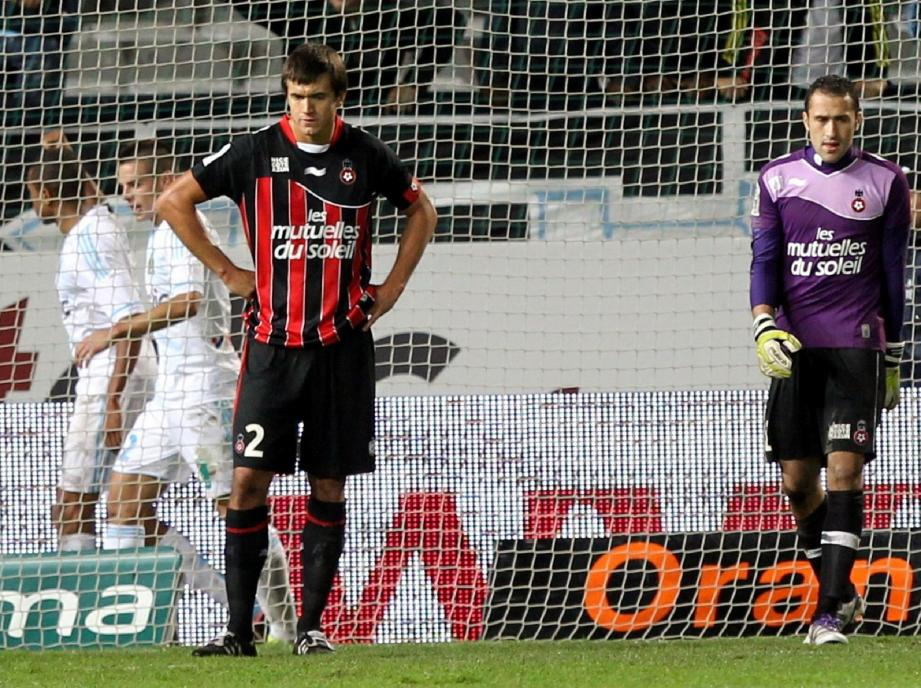 Toute la frustration de Renato Civelli après la cruelle défaite à Marseille. « À chaque fois que je perds, je suis énervé », reconnaît-il.(Photo Serge Haouzi)