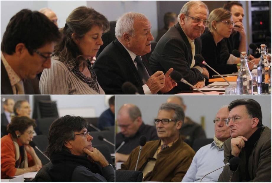 Dans la salle du conseil municipal, hier, on a évoqué les grandes orientations du territoire. Un exposé qui a intéressé le public, constitué de quelques élus et présidents d'association.