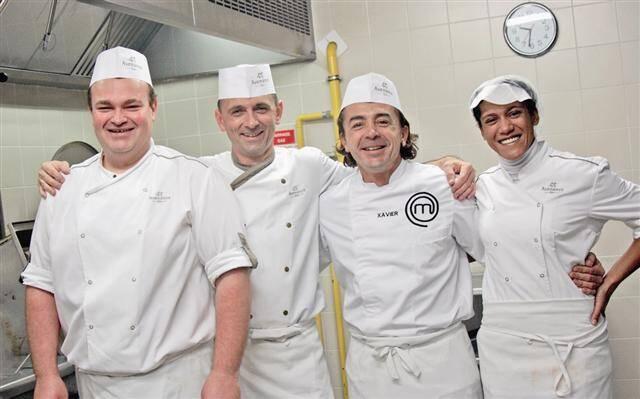 La restauration collective, c'est un autre monde, que Xavier a découvert avec Gilles et son équipe.