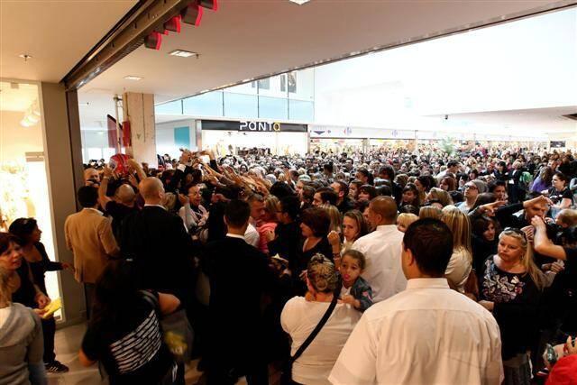 A l'inauguration en octobre dernier du magasin H&M de La Valette, le premier dans le Var.
