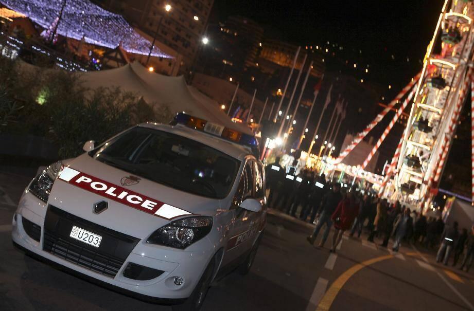 Le soir du 31, la sûreté monégasque a veillé de près au bon déroulement des festivités.