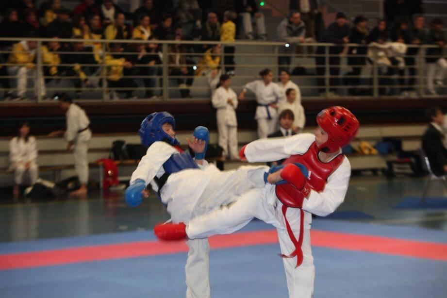Pupilles et benjamins s'affrontent aujourd'hui pour la coupe enfants élites. Le karaté est encore à l'honneur dans le département après les championnats du Var à Draguignan le week-end dernier.